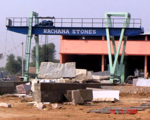 rachana stones cutting and finishing