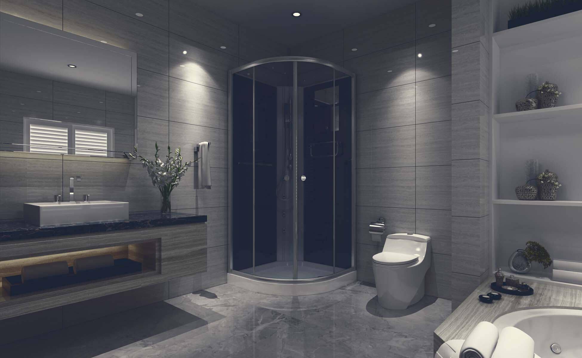 Bathroom Rachana Stones