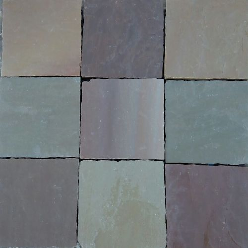 Autumn Brown Desert Yellow Cobbles Supplier India Rachana Stones