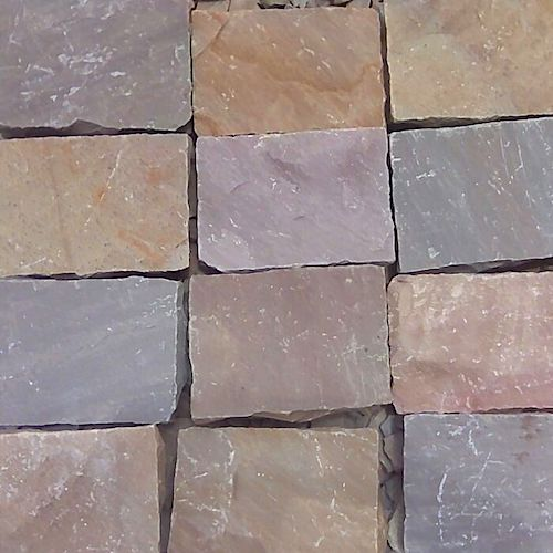 Multicolour Cobble Manufacturer Supplier Rachana Stones Export