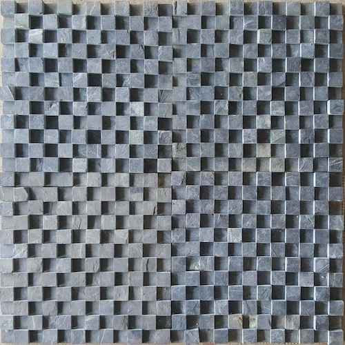 BLACK MOSAIC 3D PATTERN SUPPLIER RACHANA STONES INDIA