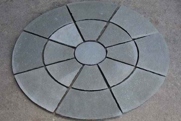 Circel PAving Kota Blue Stone Circle Manufacturer Exporters Rachana Stones India mail:care@rachanastones.com