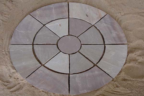 Circle PAving Brown Stone Circle Manufacturer Exporters Rachana Stones India mail:care@rachanastones.com