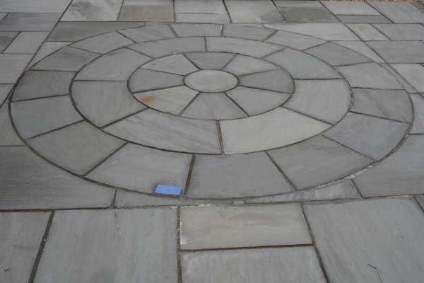 Circle PAving KAndla Grey Stone Circle Manufacturer Exporters Rachana Stones India mail:care@rachanastones.com