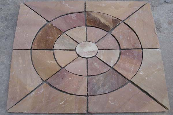 Circle PAving Modak Stone Circle Manufacturer Exporters Rachana Stones India mail:care@rachanastones.com