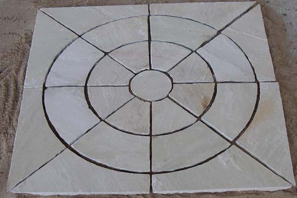 Circle Paving Mint Stone Circle Manufacturer Exporters Rachana Stones India mail:care@rachanastones.com