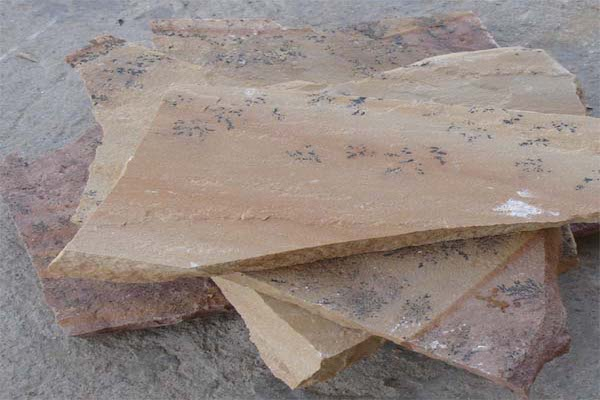 Crazy PAving Mint Fossil Rachana Stones Exporter India mail:care@rachanastones.com