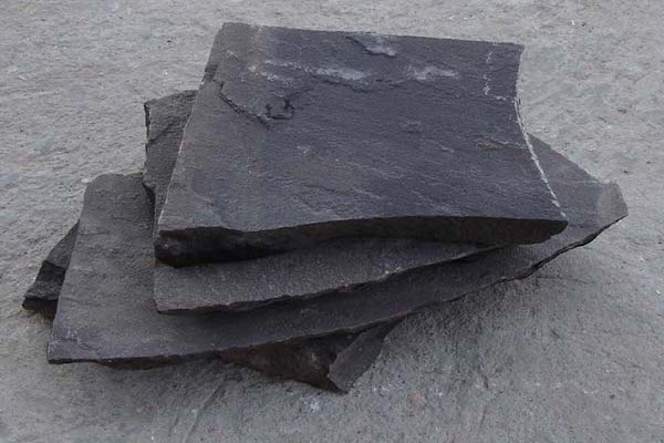 Crazy Paving Black Rachana Stones Exporter India mail:care@rachanastones.com