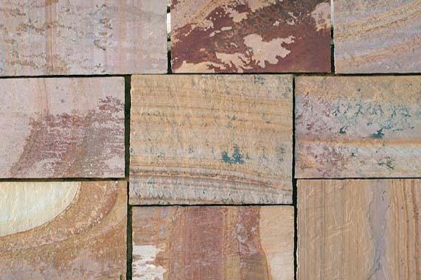 Flagstone Fossil Supplier Exporter Rachana Stones India