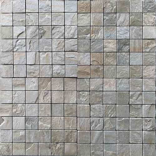 HIMACHAL WHITE NATURAL 98X98 MM RACHANA STONES INDIA