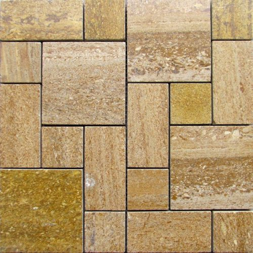 MARBLE-Ita-Gold-Polished-Square-Rectangle-Pattern-Rachana Stones India