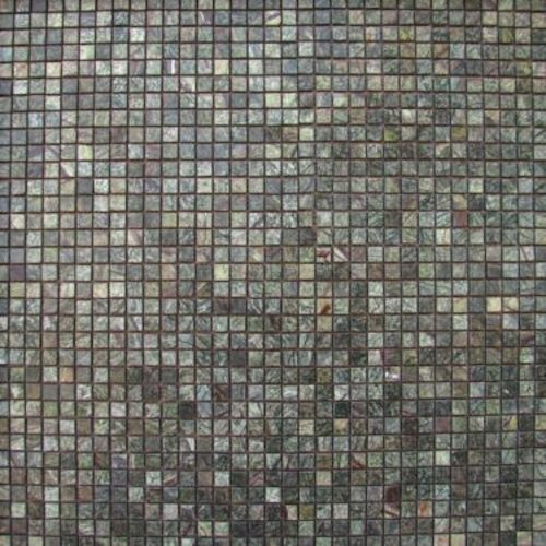 MARBLE-Rainforest-Green-Mosaic-Polished-9x981-pcs-per-mesh-pattern-Mosaic Stone Supplier Rachana Stones India