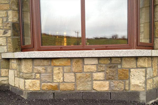 STONE WINDOW SILL APPLICATION