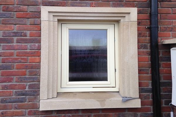 Dusty Sandstone Window Cills