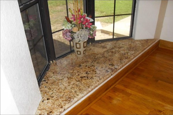 Granite window cill design