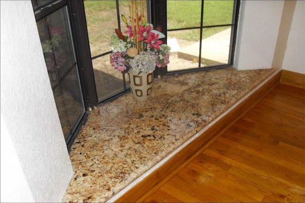 Granite window cill design