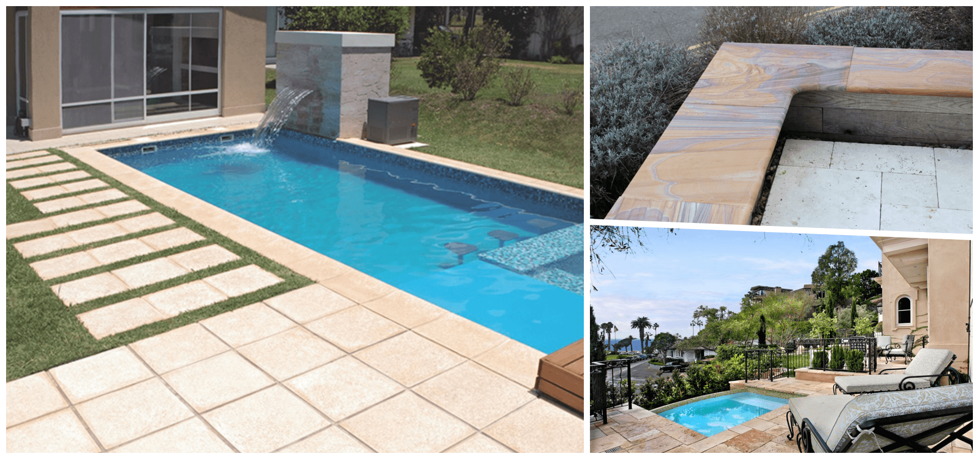 Pool coping Manufacturer Supplier Exporter Rachana Stones India