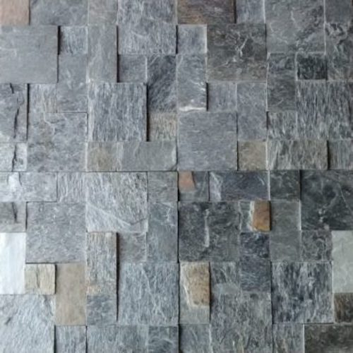 SLATE-Silver-Shine-Set-Pattern-Mosaic STone Supplier Rachana Stones India