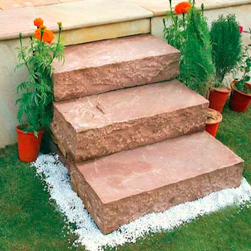 Block Steps Kerb Paving stone Manufacturer Exporter Rachana Stones mail care@rachanastones.com
