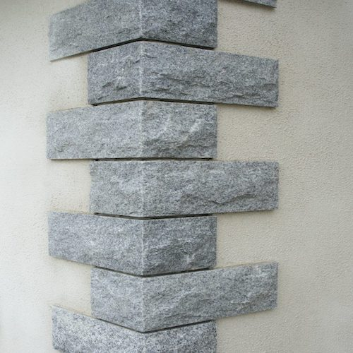 Stone Grey Quoins supplier exporter India Rachana Stones