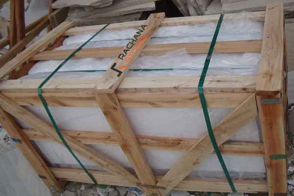 PACKAGING Wooden Crate Pallet Rachana Stones India